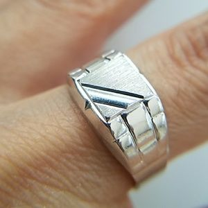 Men's Ring 11mm sz 7 8 9 10 11 12 13